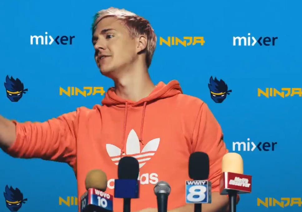 Ninja 'disgusted' after Fortnite streamer's Twitch channel used to
