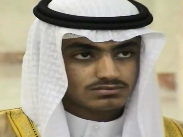 Footage released by CIA shows Hamza bin Laden in home video recording of wedding