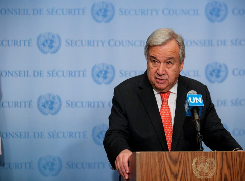 """The UN chief has urged the two nations """"to avoid destabilizing developments"""" and agree on a new arms control path."""