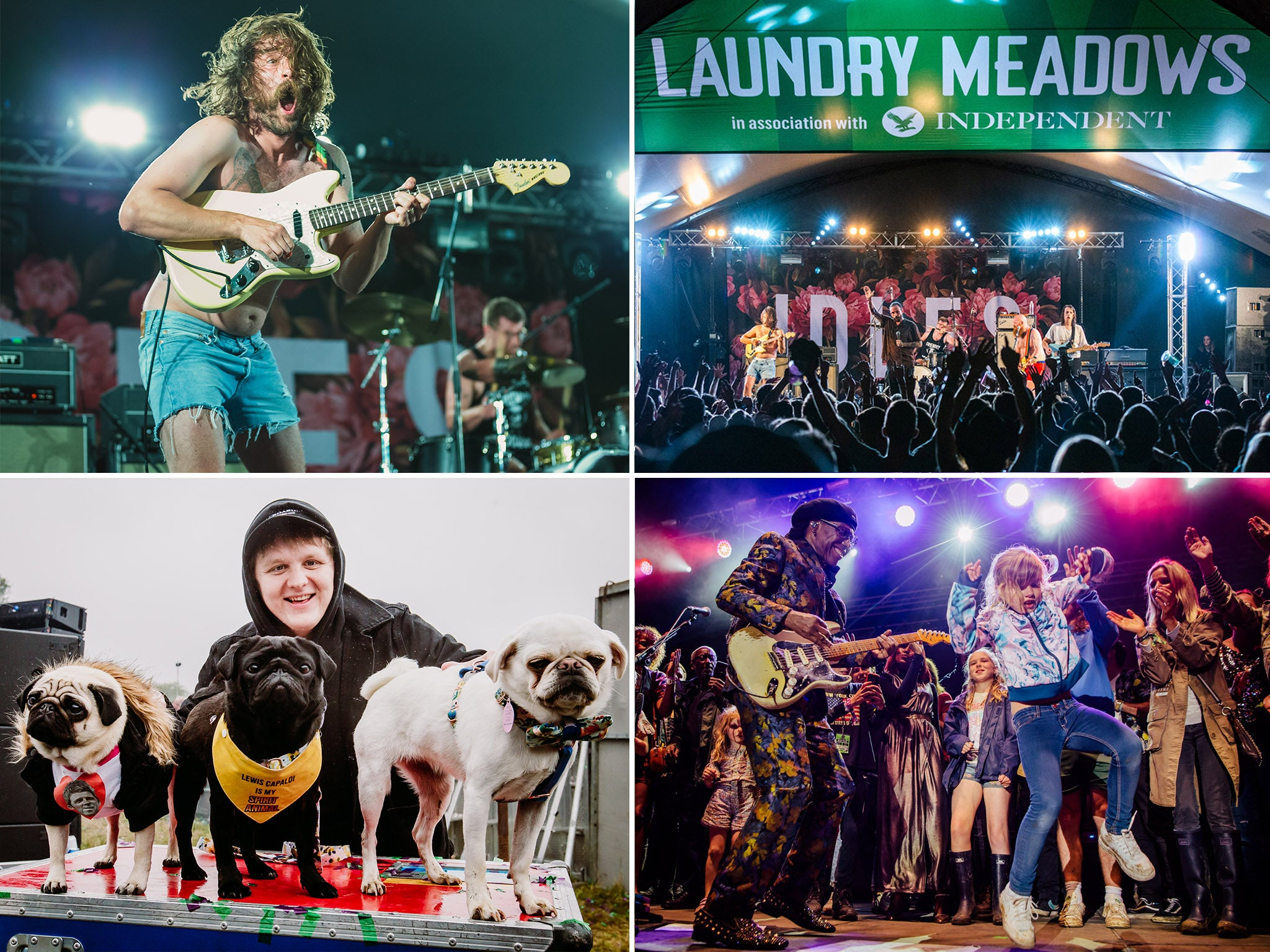 Standon Calling festival highlights – from Idles to Nile Rodgers