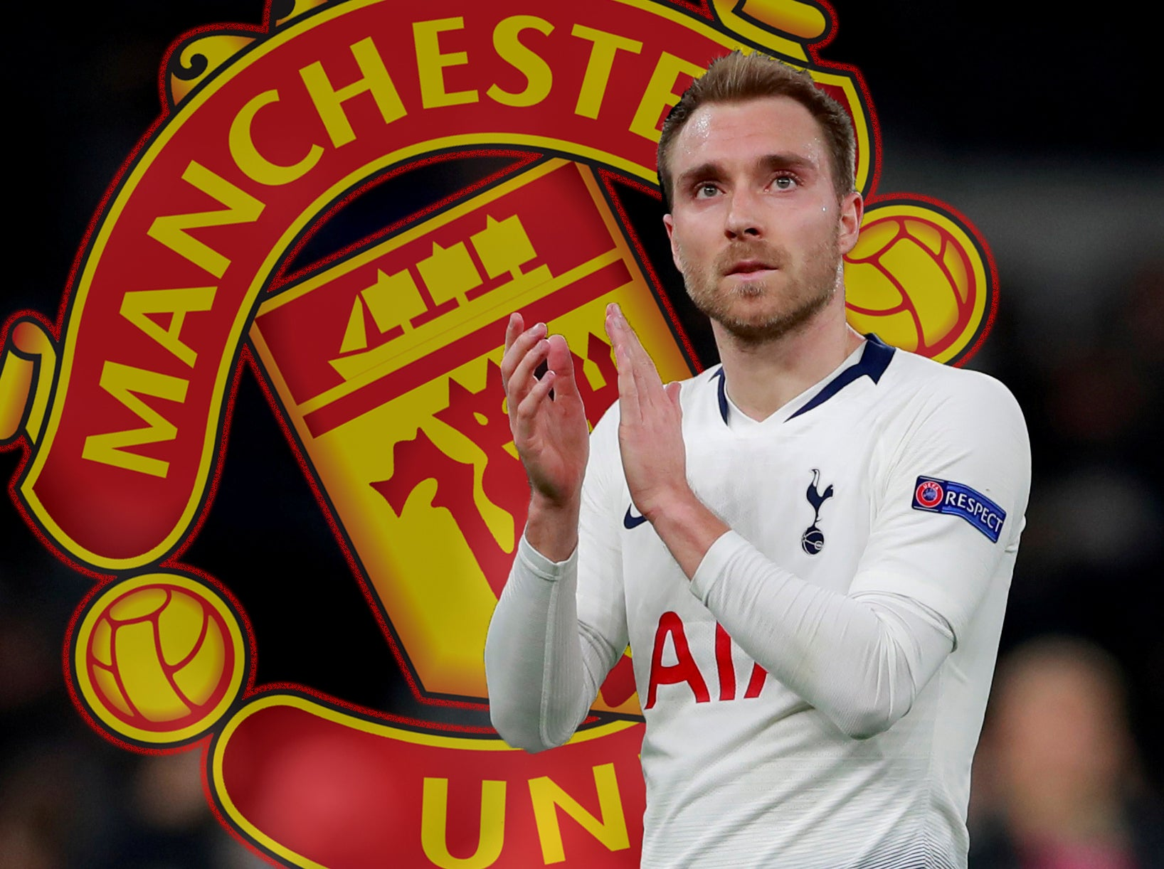 Man Utd Transfer News Club To Bid For Eriksen After Pochettino Fall Out The Independent The Independent