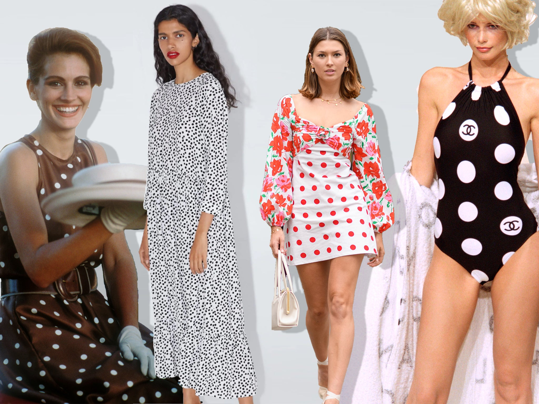 The Zara Dress Why Polka Dots Were The Hottest Trend This Summer