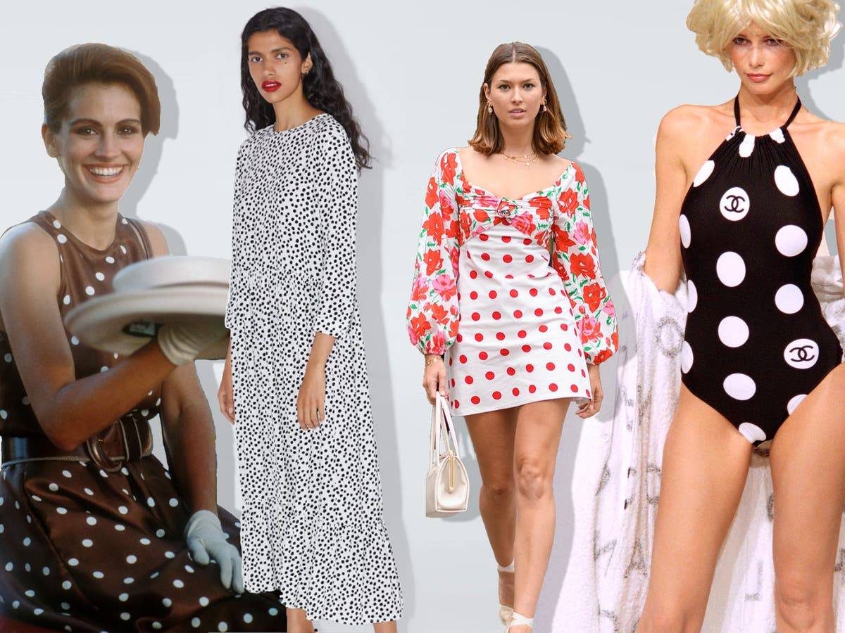 The Zara dress Why polka dots were the hottest trend this summer ...
