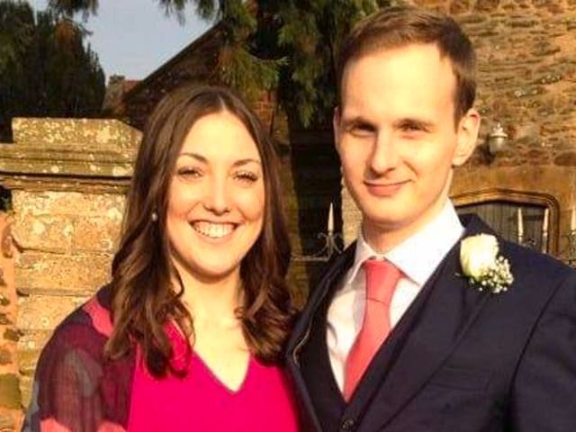 Kirsty Boden, who was killed in the London Bridge attack, with her partner James Hodder