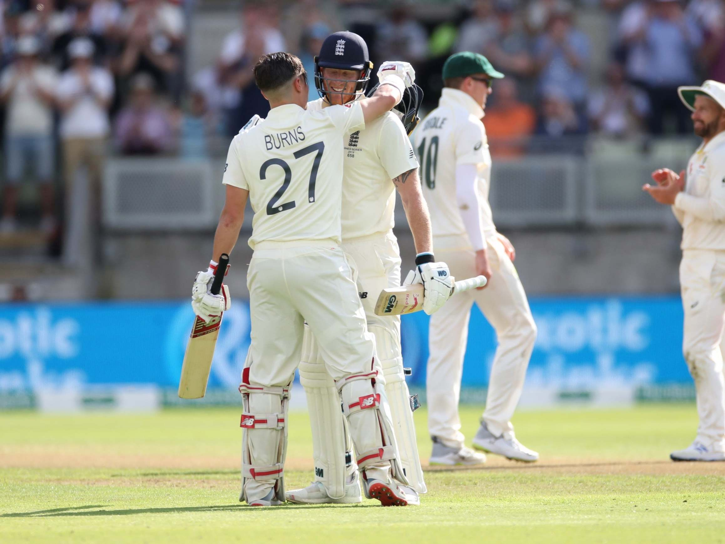 The Ashes 2019: Centurion Rory Burns soaks in sunlit acclaim as
