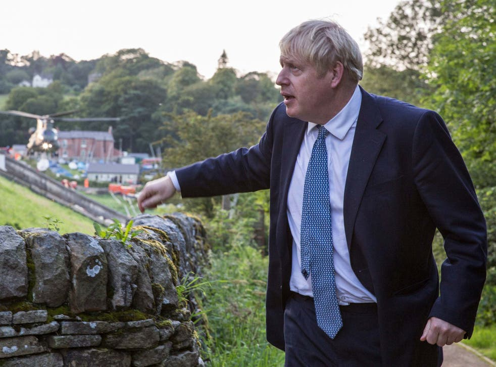 Boris Johnson says the existing government commitment to reach 30m homes by 2033 is 'laughably unambitious'