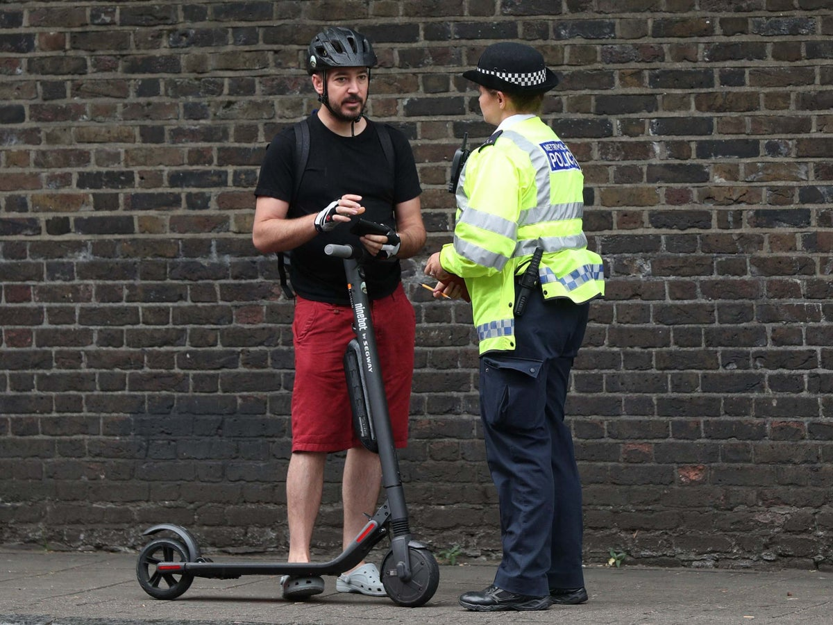 Legalise electric scooters on UK roads, protesters demand   The Independent    The Independent