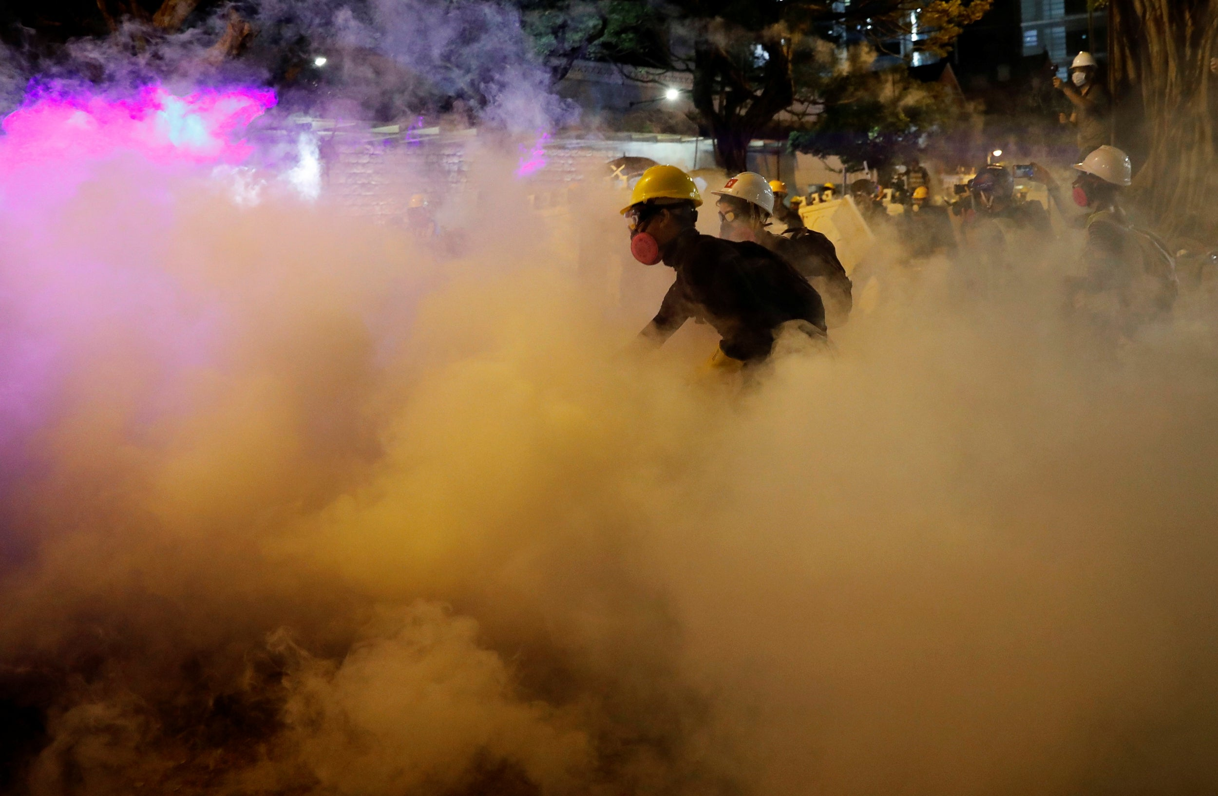 Be water': Hong Kong protesters adopt Bruce Lee tactic to evade