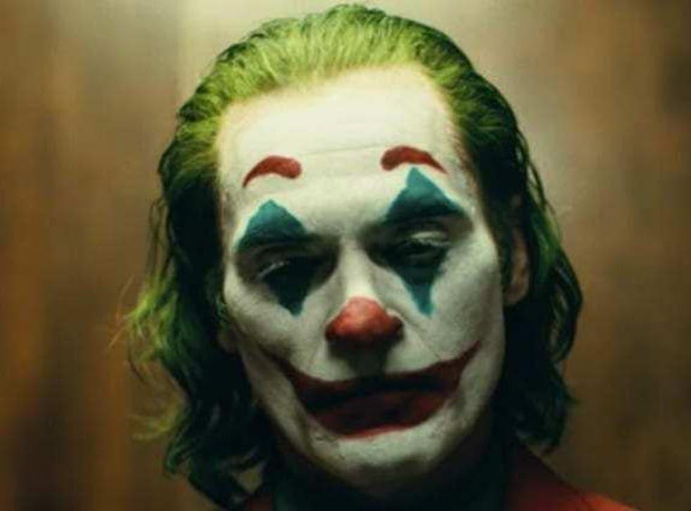 <p>Joaquin Phoenix in 2019's Joker</p>