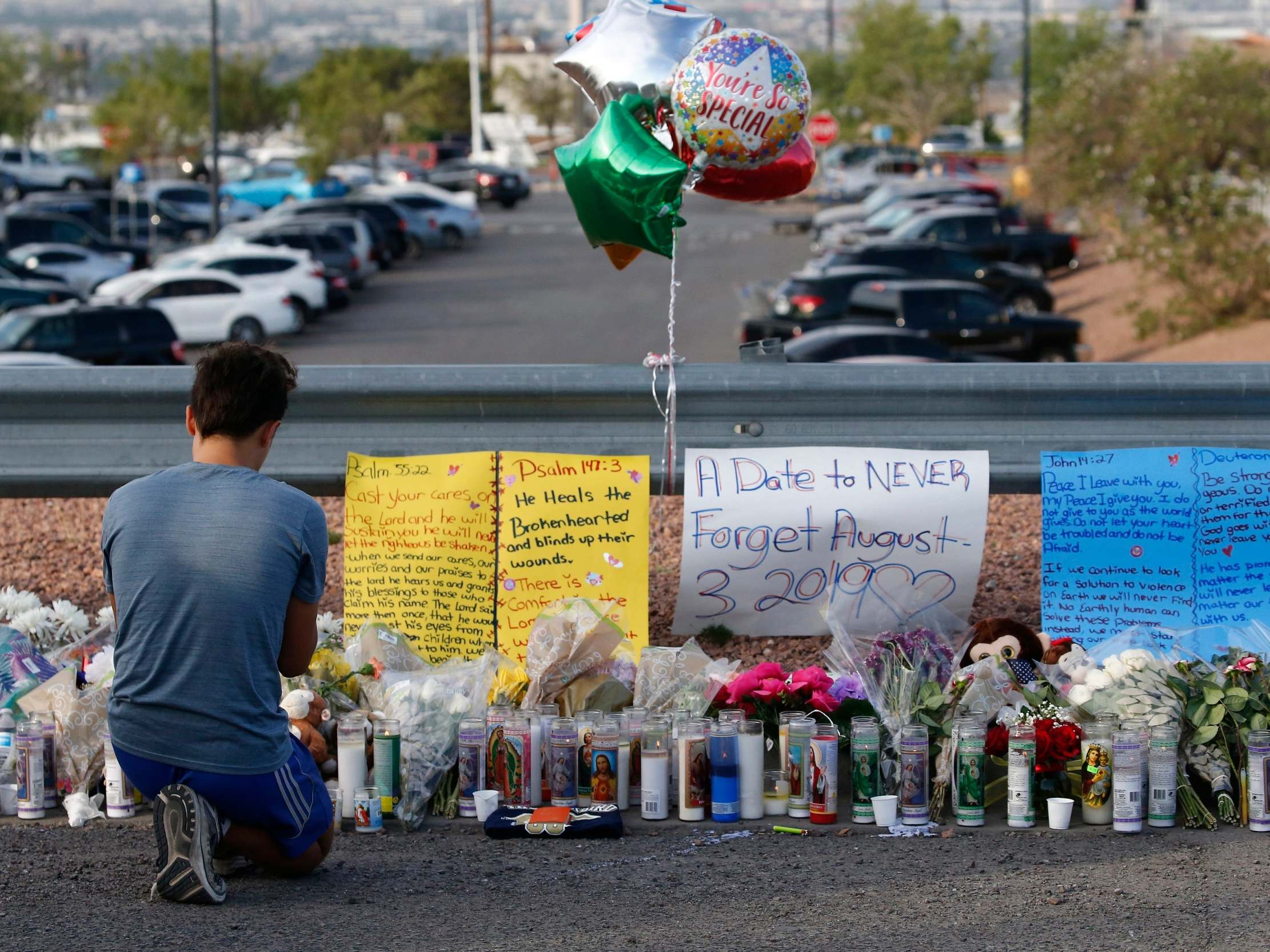 El Paso shooting: Trump administration cut programmes to