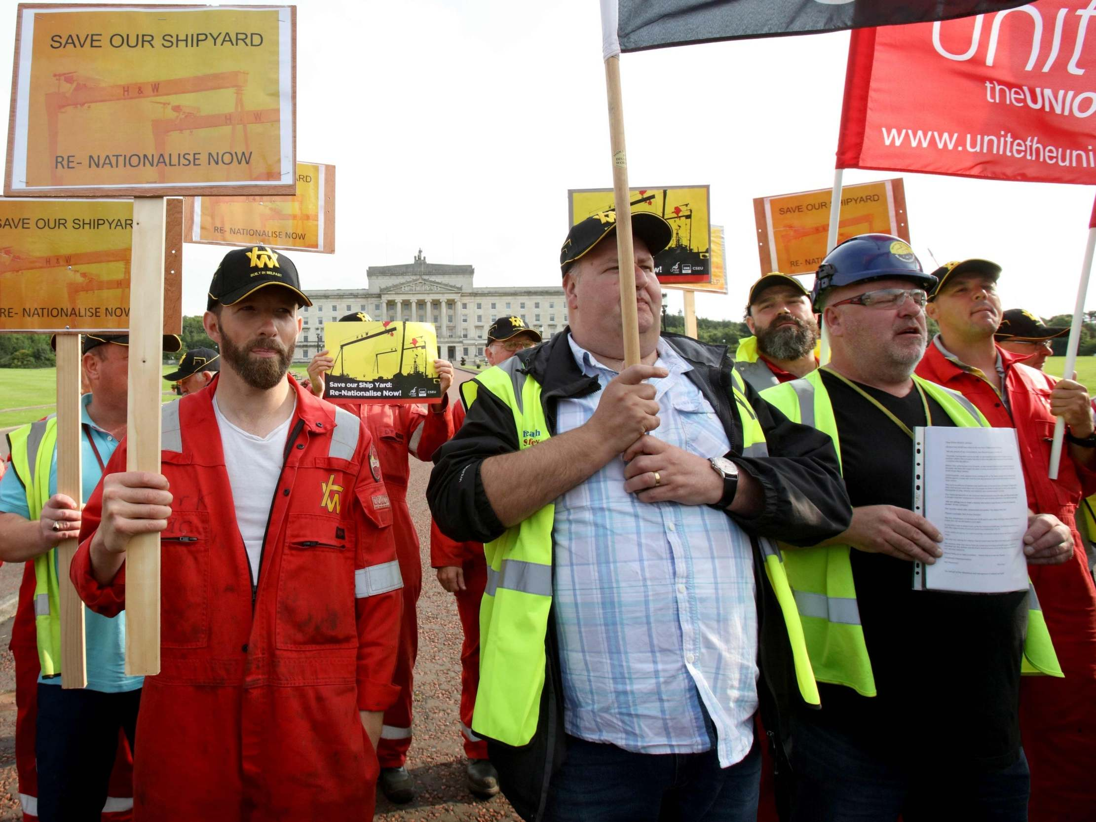 The Harland and Wolff workers want to make renewable energy. A Labour government would help them