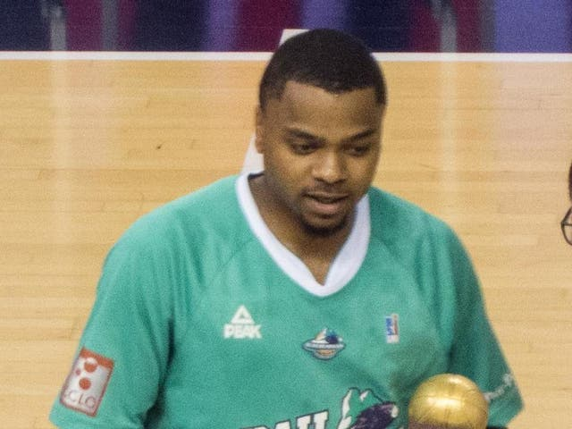"""Donell """"DJ"""" Cooper Jr, a 28-year-old point guard who last played for AS Monaco"""