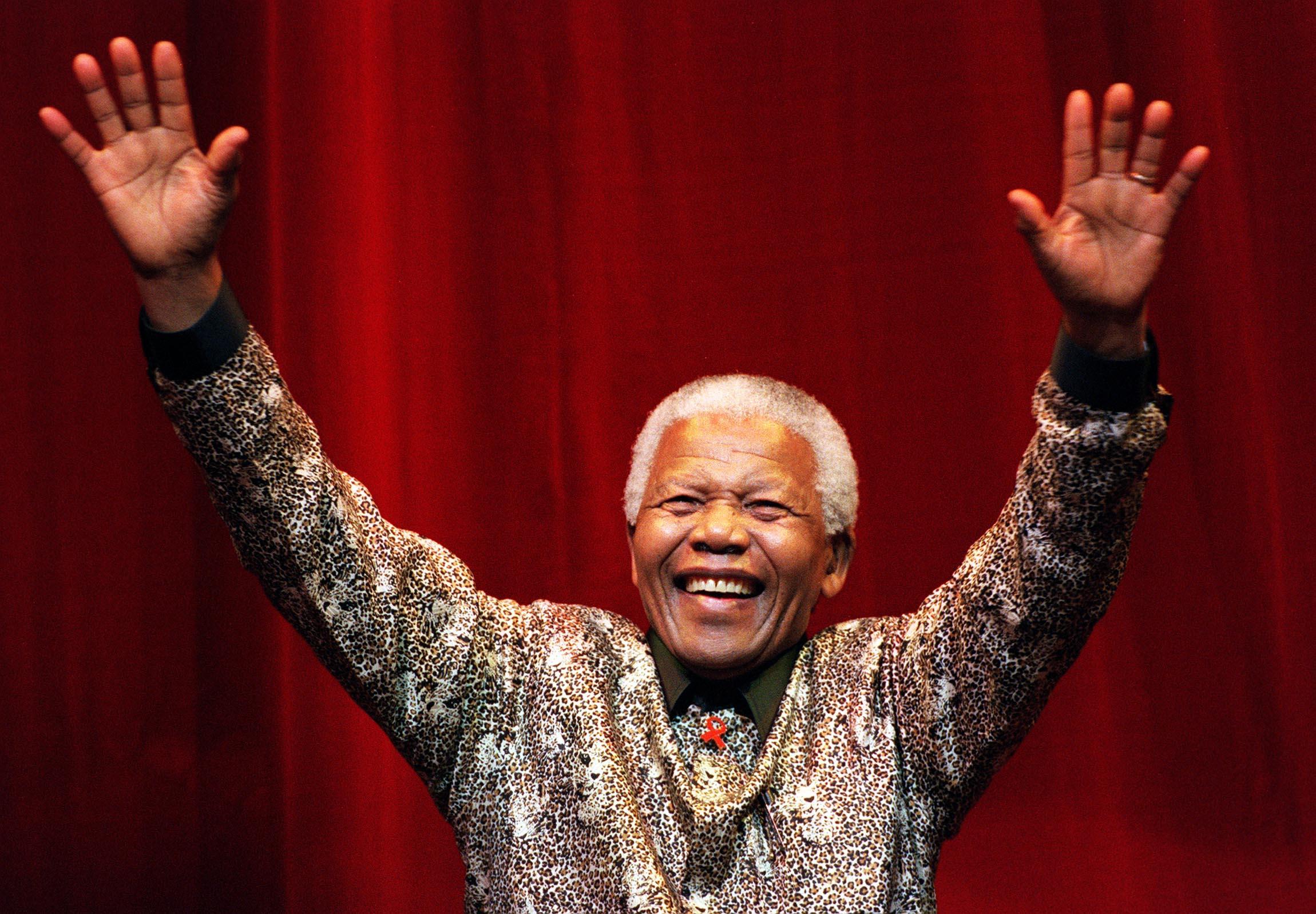 14. Nelson Mandela