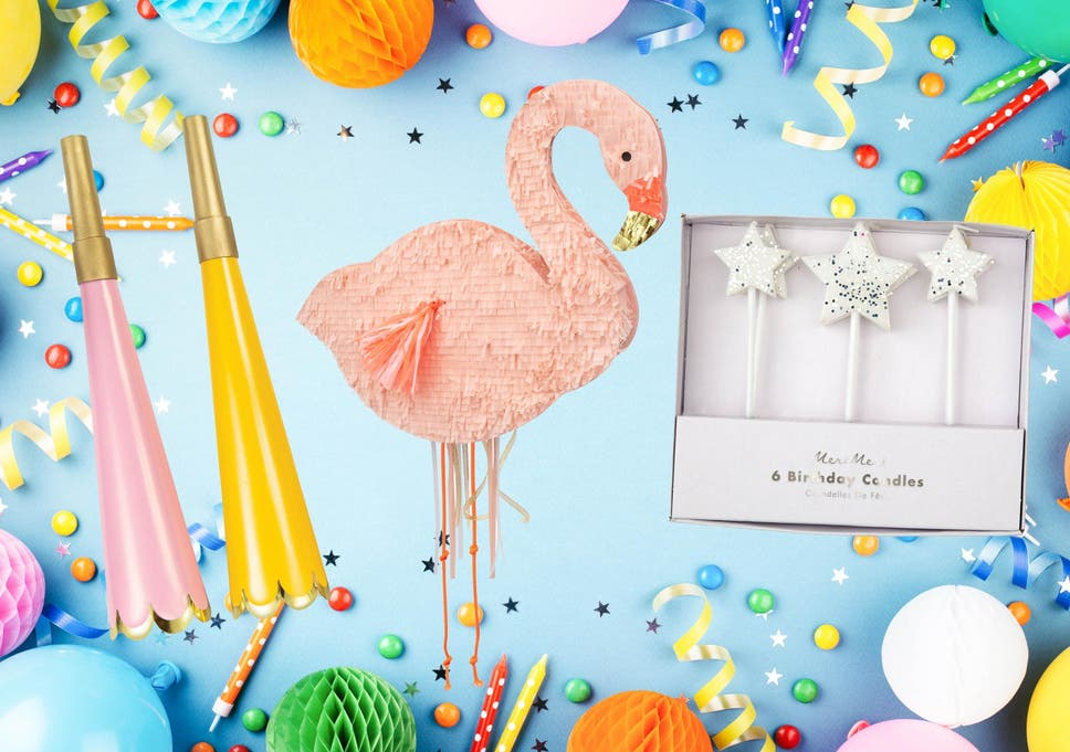 Best kids' party decorations: Balloons, pinatas, games and candles