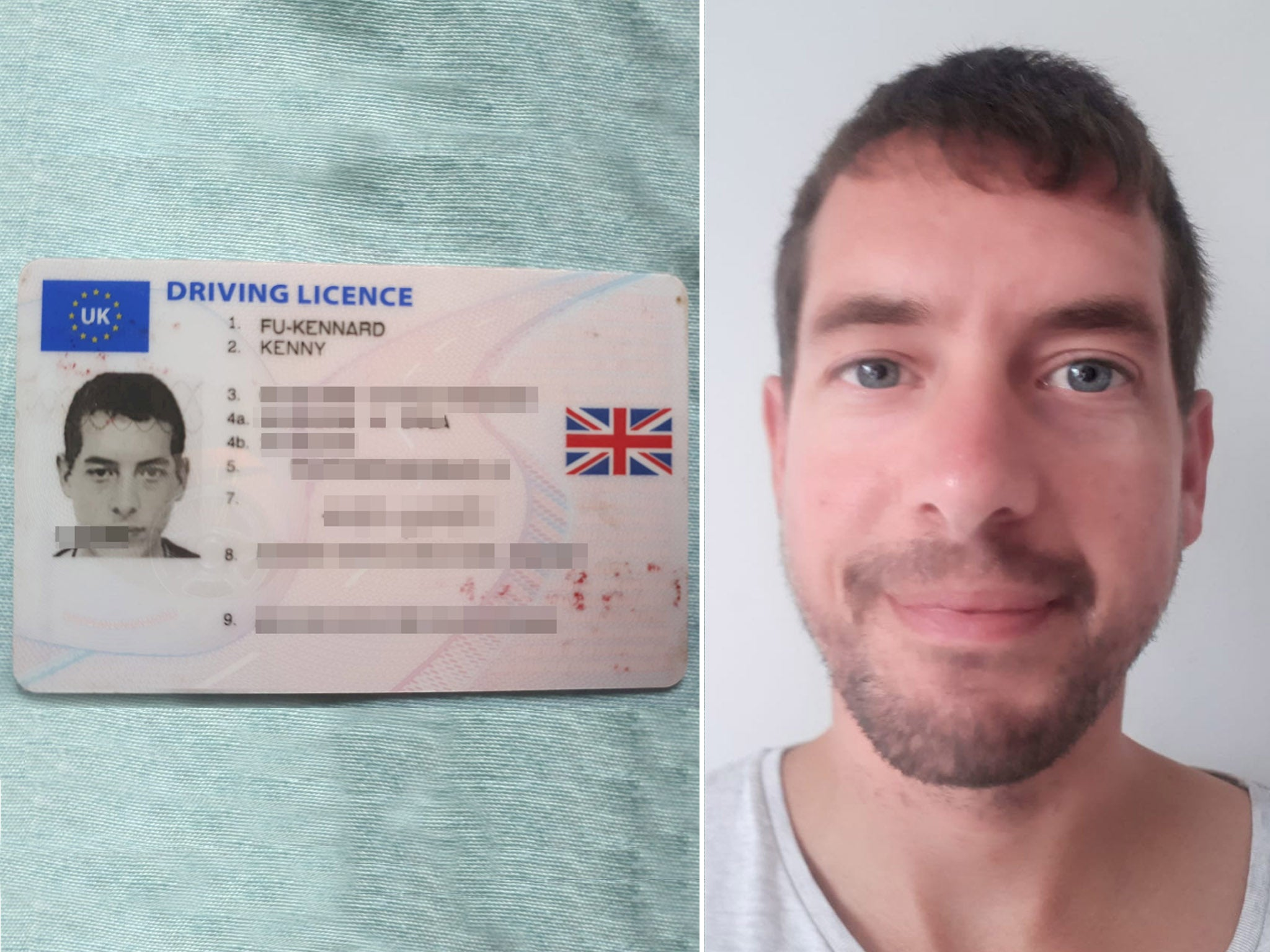 Man who changed surname to Fu-Kennard denied UK passport | The