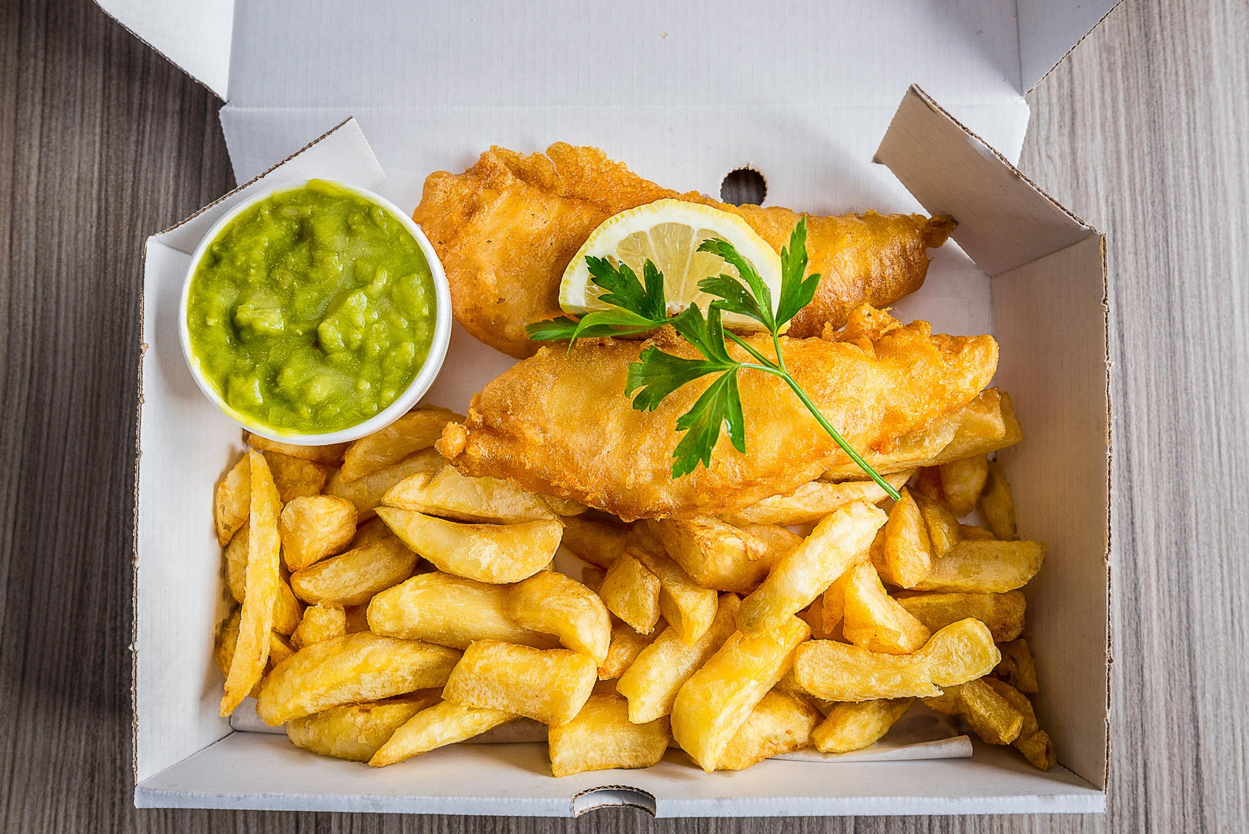 The UK's top fish and chip shops have been revealed