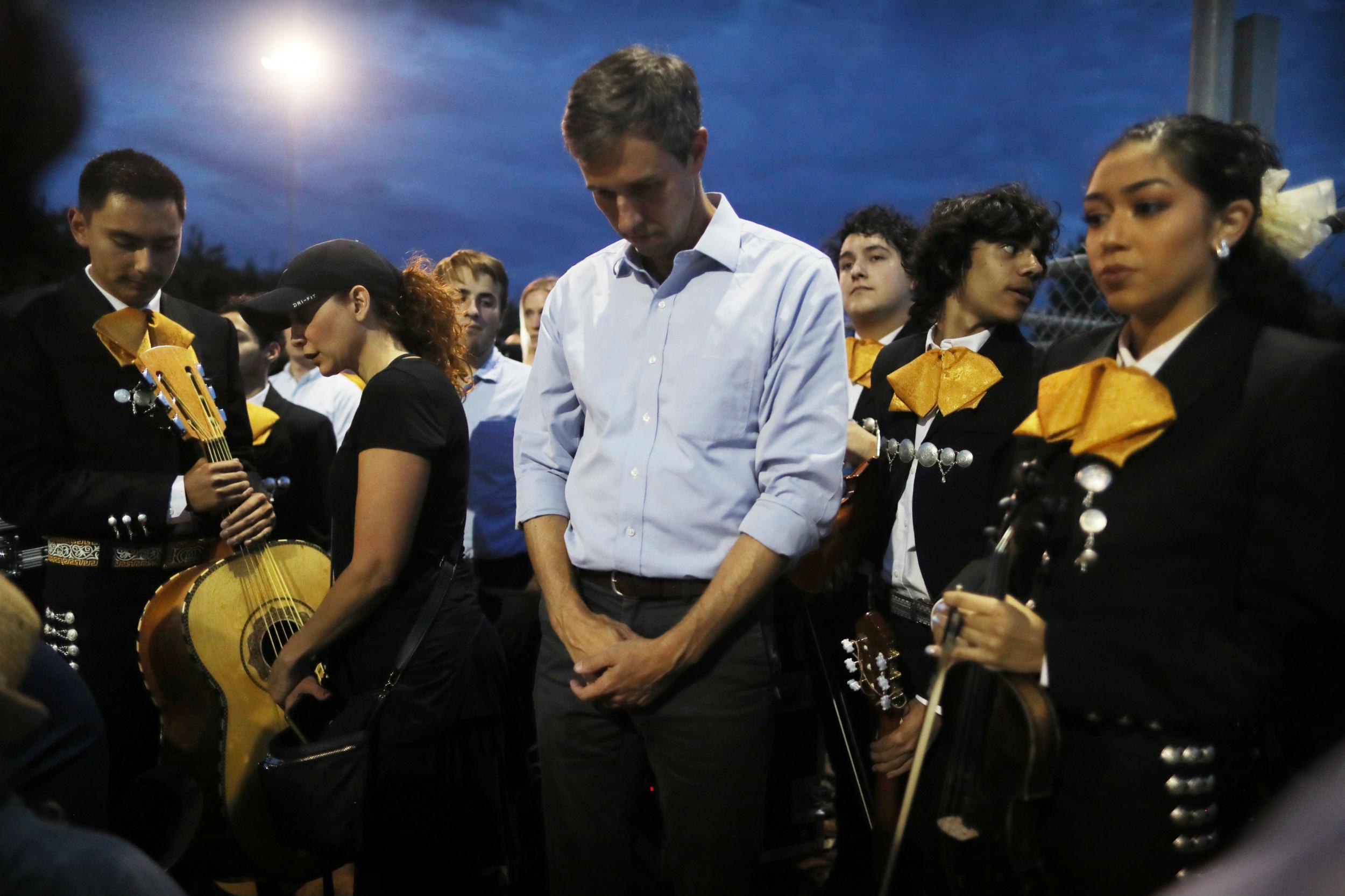 El Paso shooting: Trump 'invited terrorism' ahead of atrocity that killed 22, says Beto O'Rourke