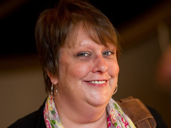 Kathy Burke declares 'equality is acknowledging that Theresa May did a s*** job'