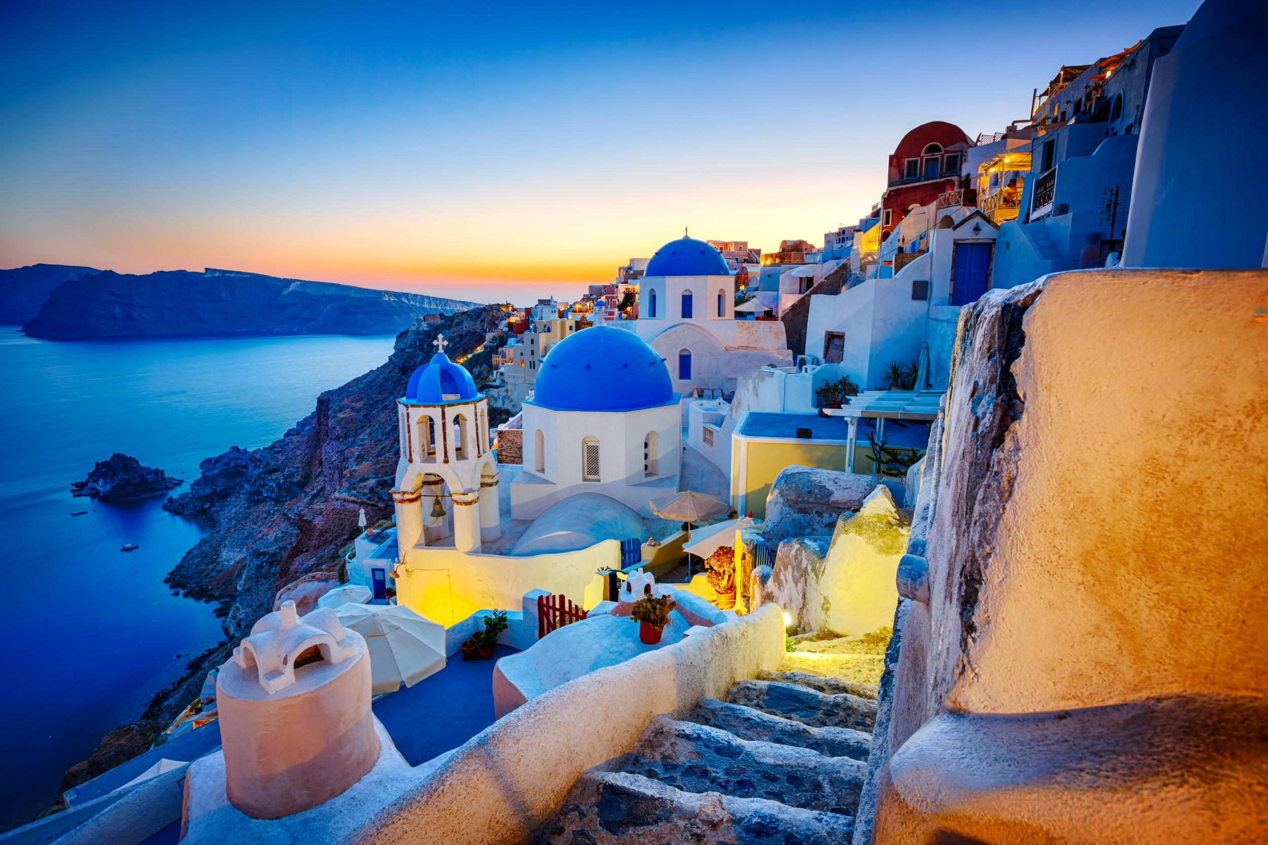 The best hotels in Santorini