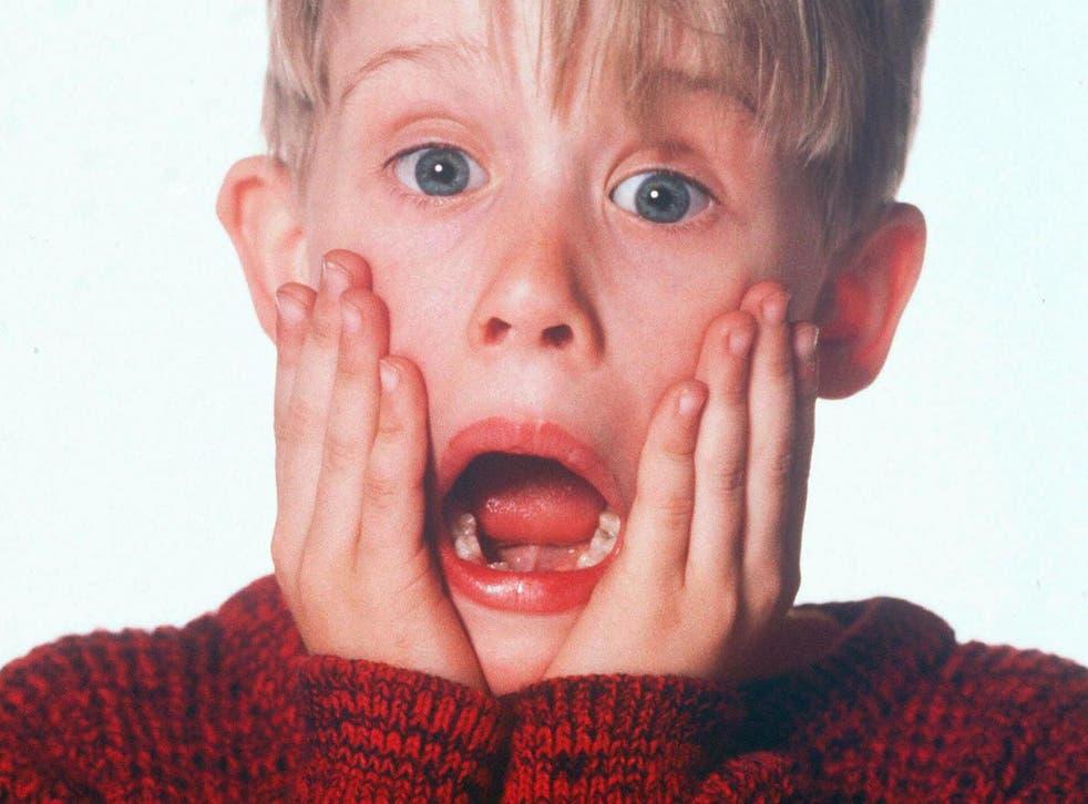 Macauley Culkin in 'Home Alone'