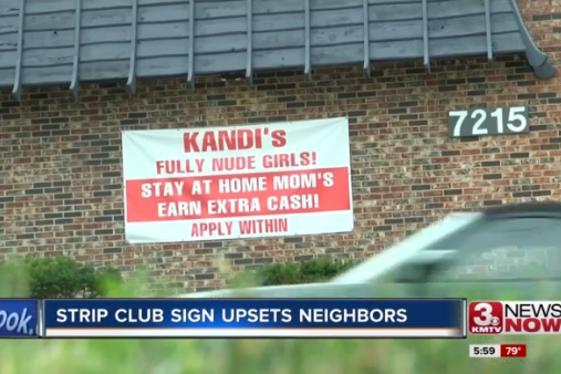 Strip club criticised for job ad aimed at stay-at-home mums