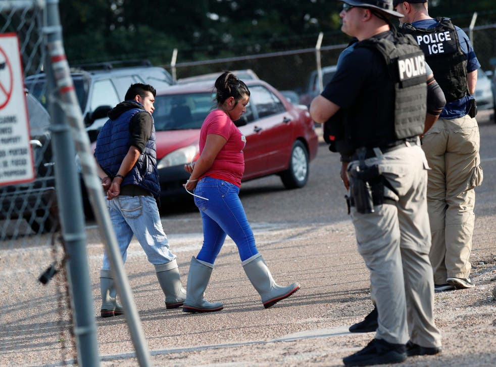 Two people are detained in Morton, Mississippi