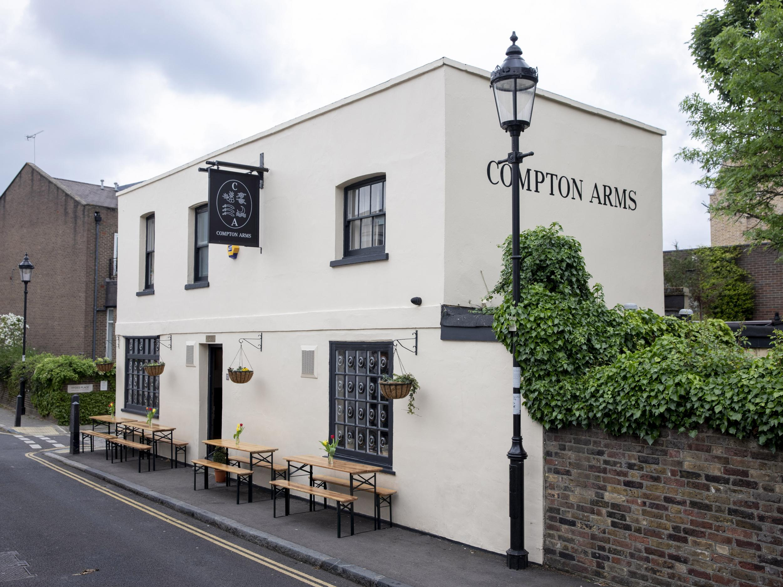 The Compton Arms: Orwellian dream or nightmare, depending on how you look at it 1