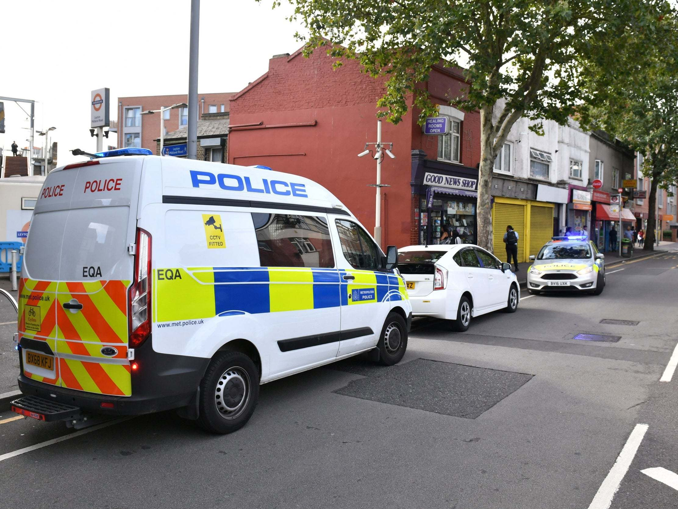 Leyton stabbing: Man charged with attempted murder of police officer in London