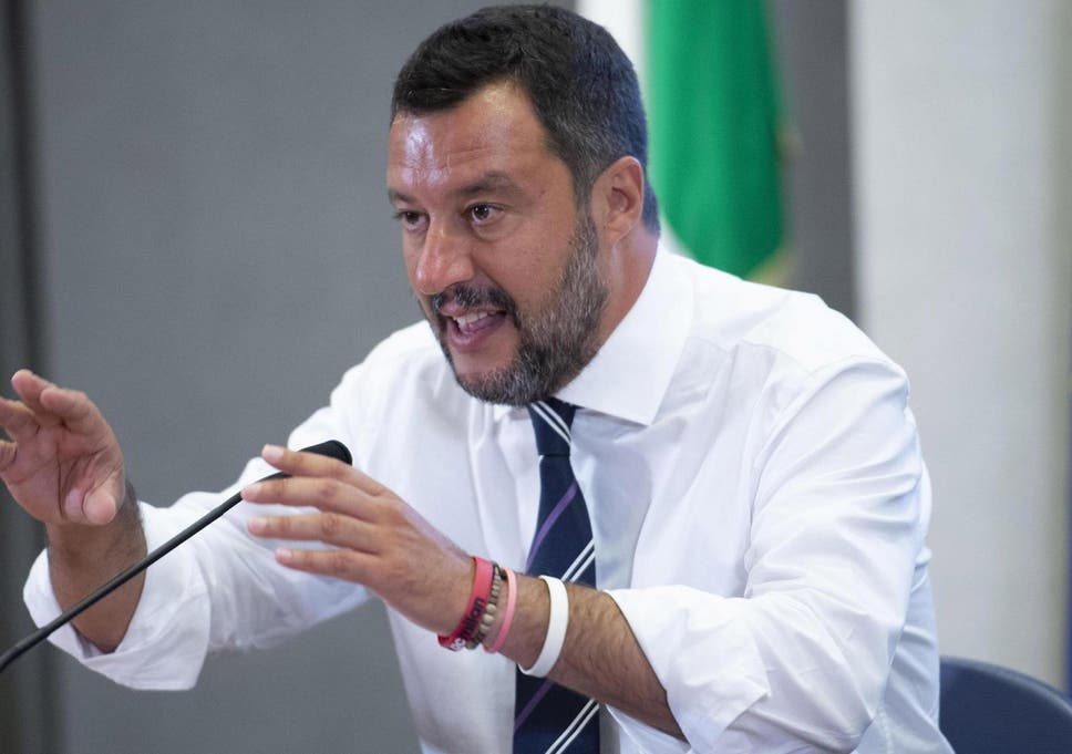 Salvini calls for new election as Italy's coalition government falls