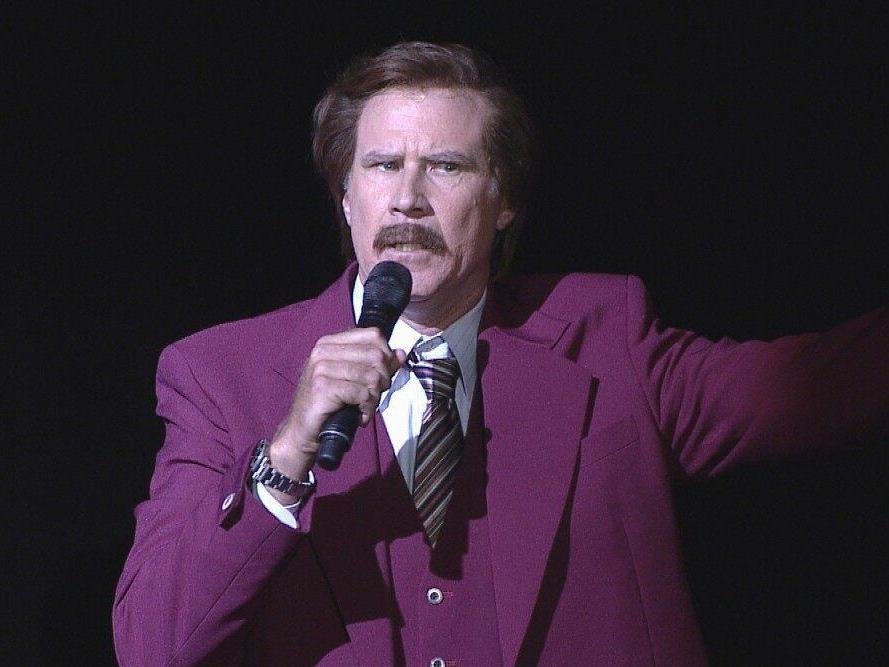 Ron Burgundy reveals he 'golfed with Trump' as Will Ferrell stages record-breaking chat show takeover