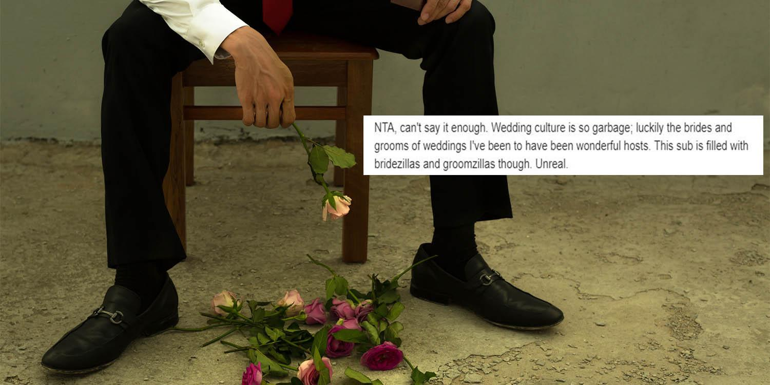 Weddings: Man ditches role at ceremony after groom asks him to cut