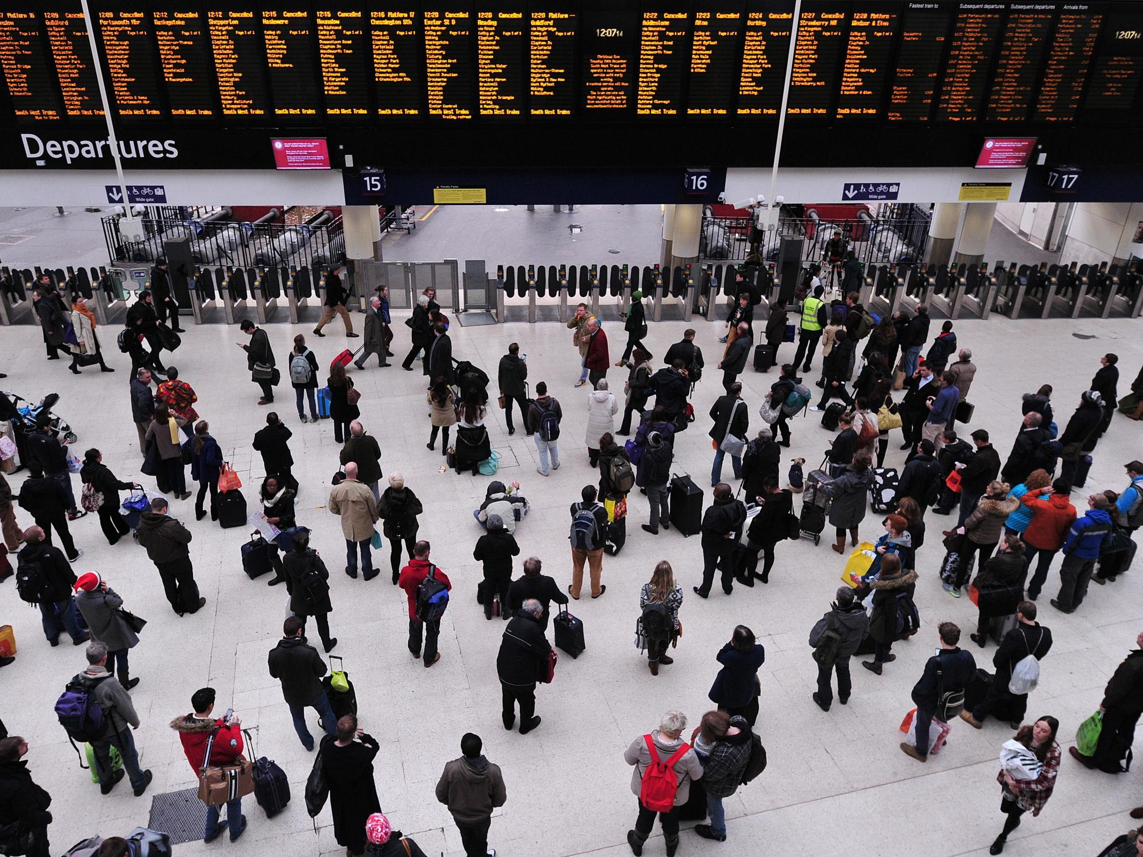 UK weather: Rail disruption continues amid flooded lines and power cuts