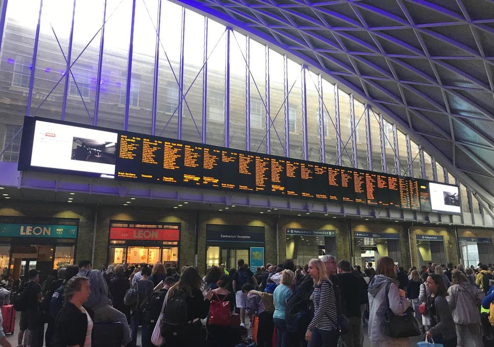 UK travel: West Coast Mainline closed due to flooding between