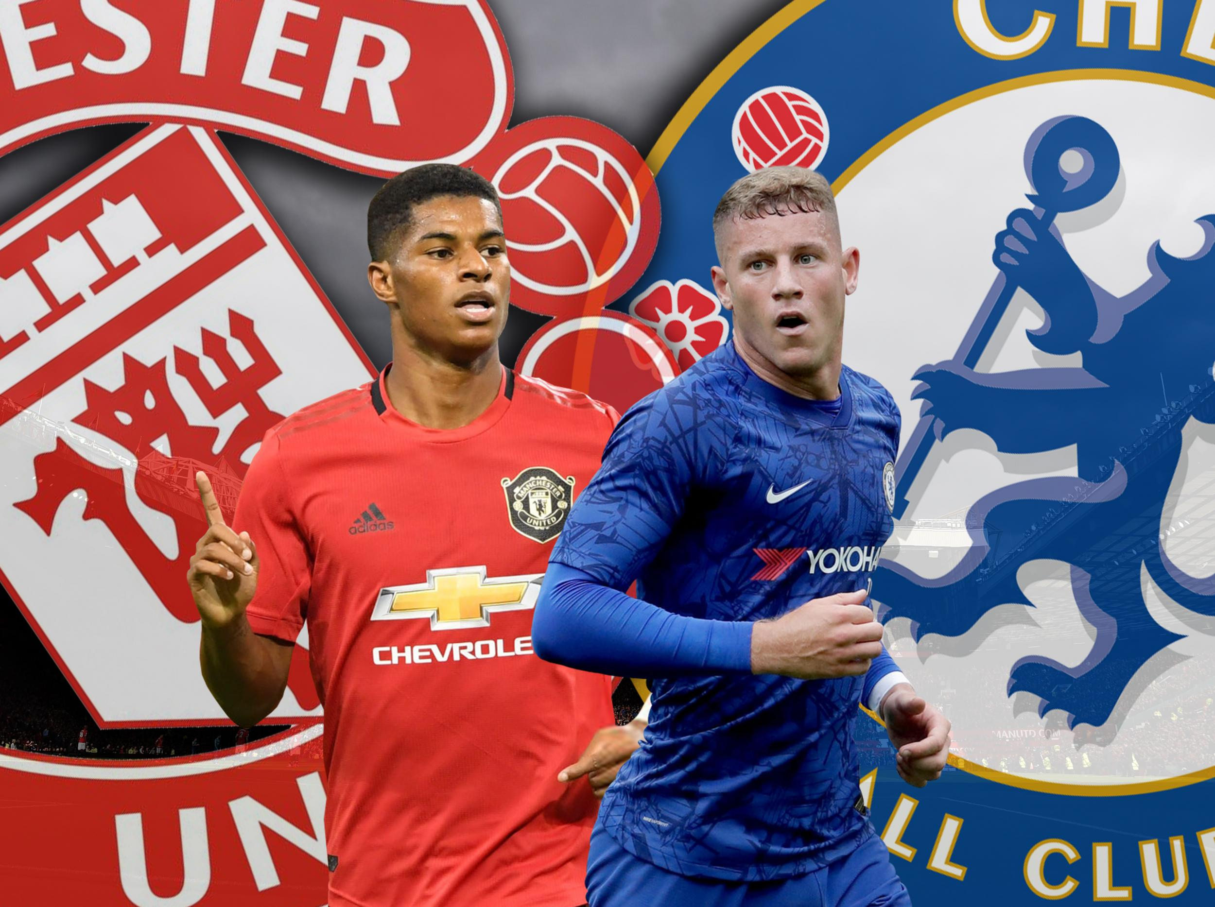 Manchester United vs Chelsea: Which players make our combined XI ahead of this evening's kick-off?