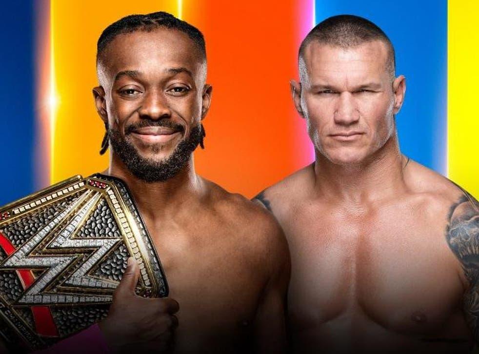 WWE Champion Kofi Kingston meets Randy Orton