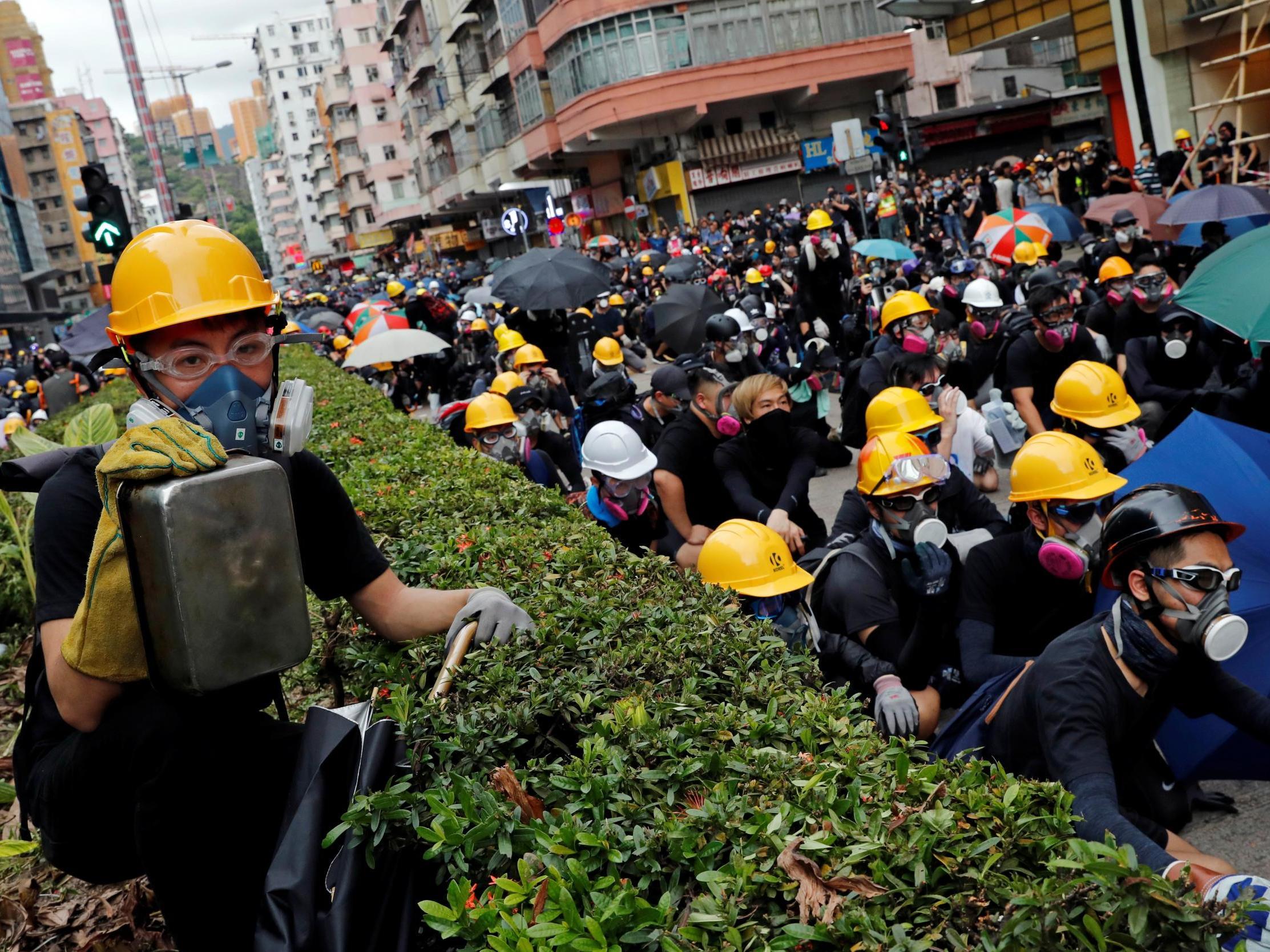 'Simply wrong': China slams Raab after call to Hong Kong chief execu…