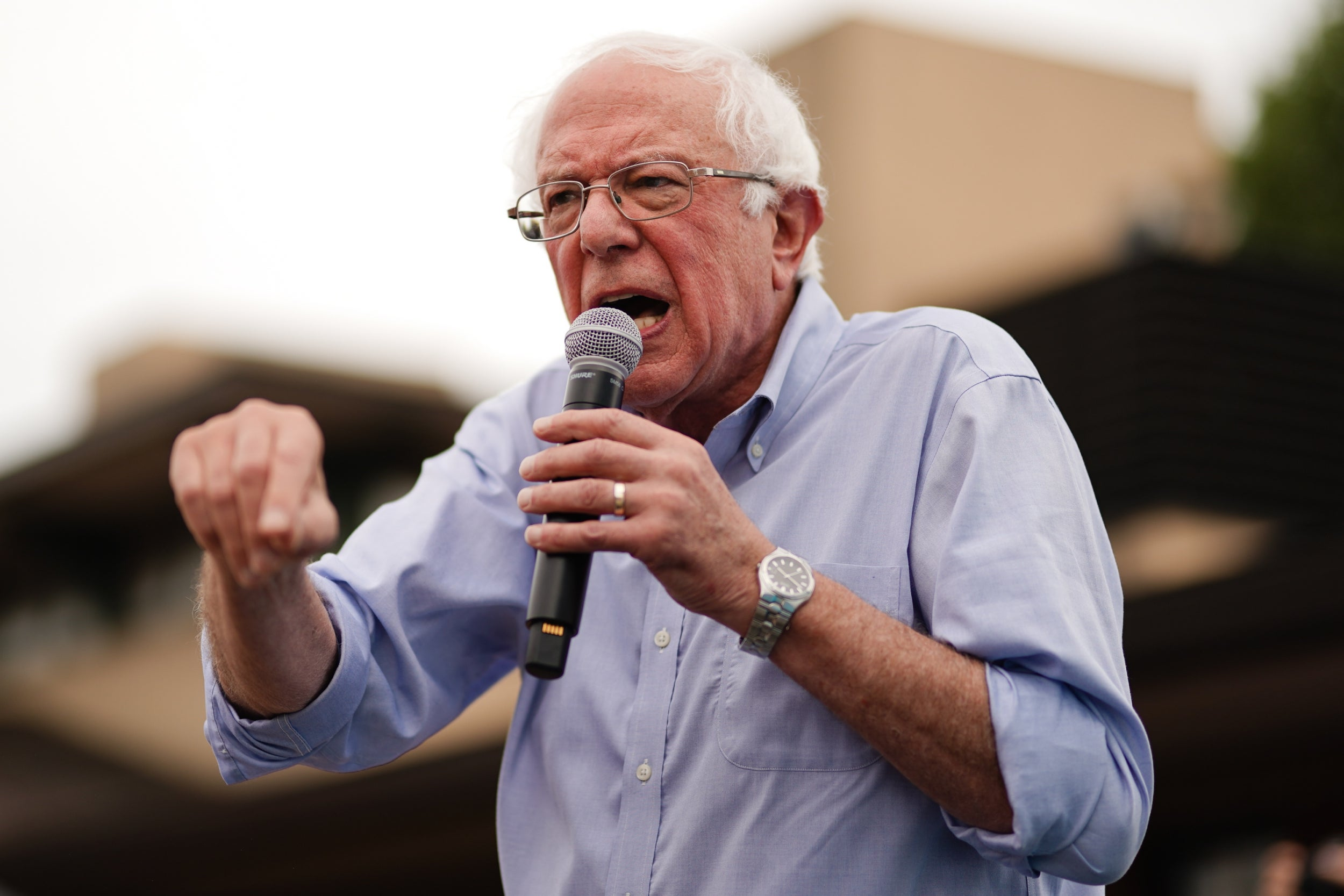 I need you to stop tone-policing Bernie Sanders