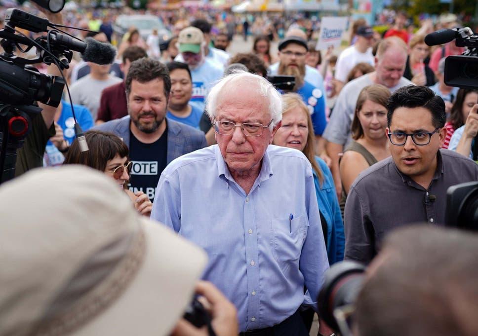 Best Strains 2020 Bernie Sanders takes victory lap at Iowa State Fair 'Soapbox