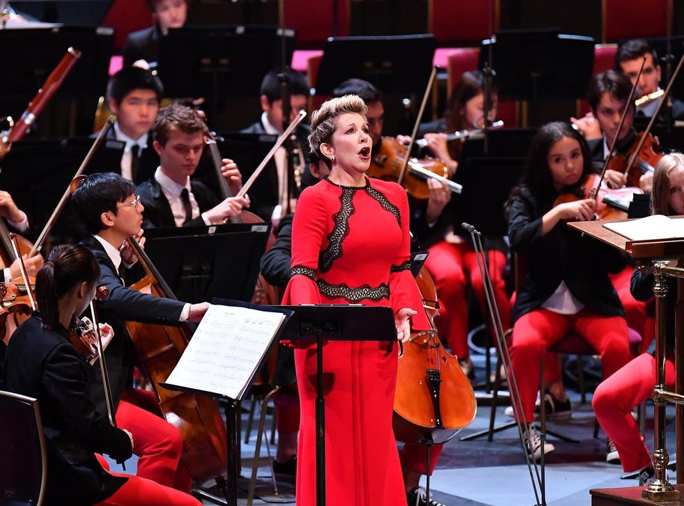 The National Youth Orchestra of the USA are joined by brass players of the National Youth Orchestra of Great Britain and mezzo-soprano Joyce DiDonato