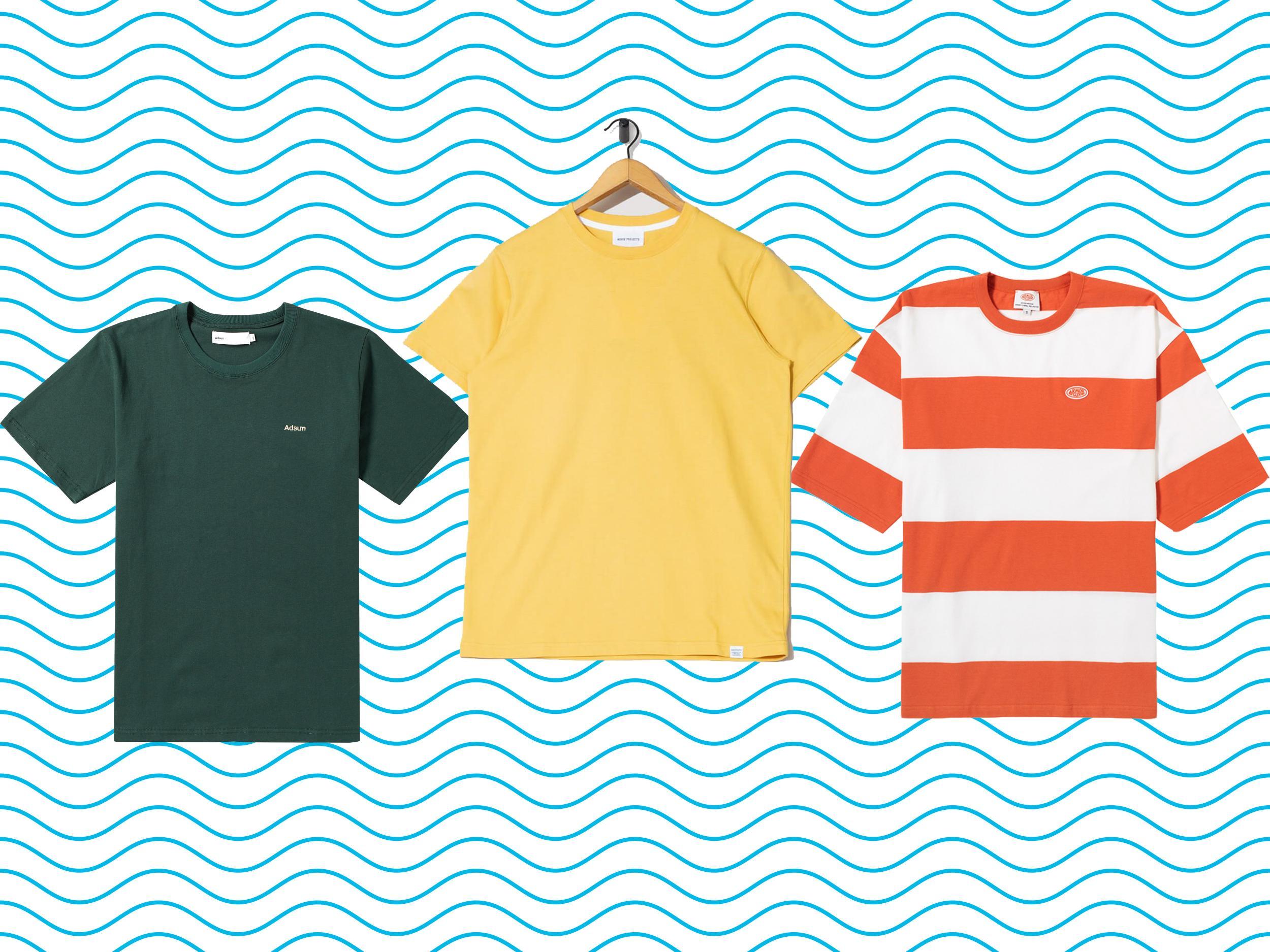 Mens Fashion Shape T-Shirt IRELAND Football Trendy