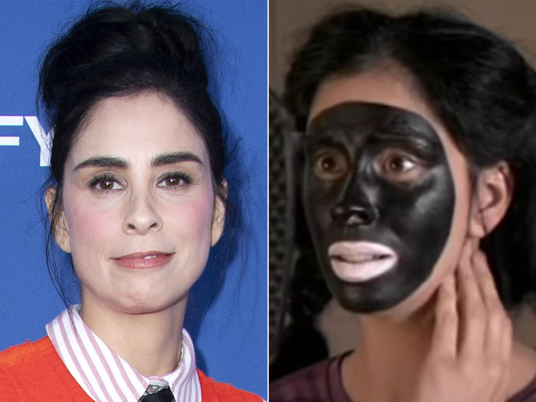 Sarah Silverman still doesn't get how to talk about blackface