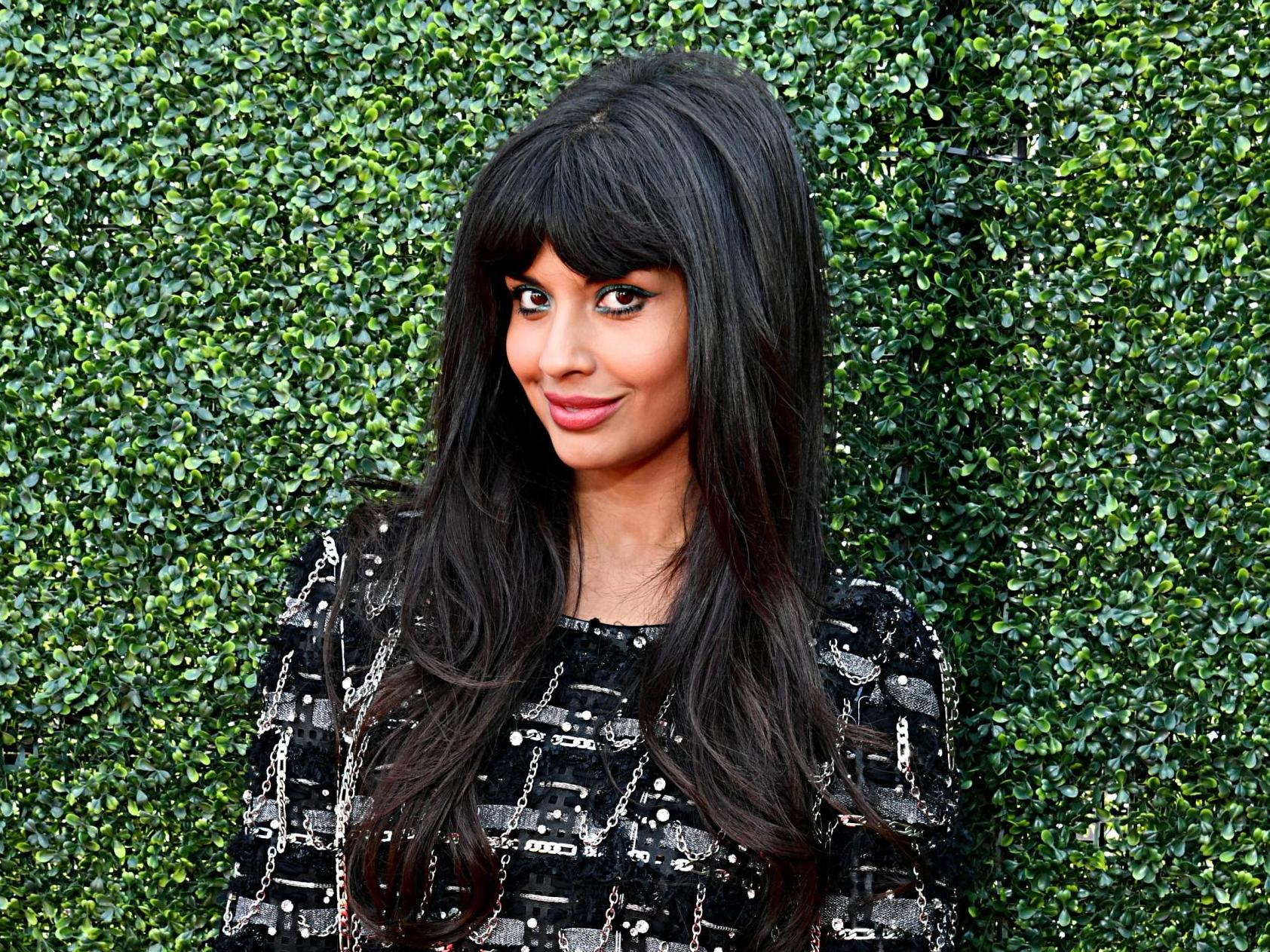 Jameela Jamil 'mortified' by UK's treatment of Meghan Markle: 'If [she] was white, the bold things she's doing would be celebrated'