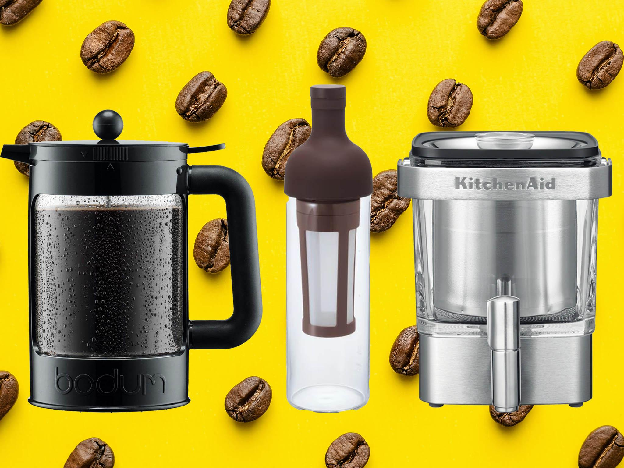 7 best cold-brew coffee makers for the perfect chilled caffeine hit …