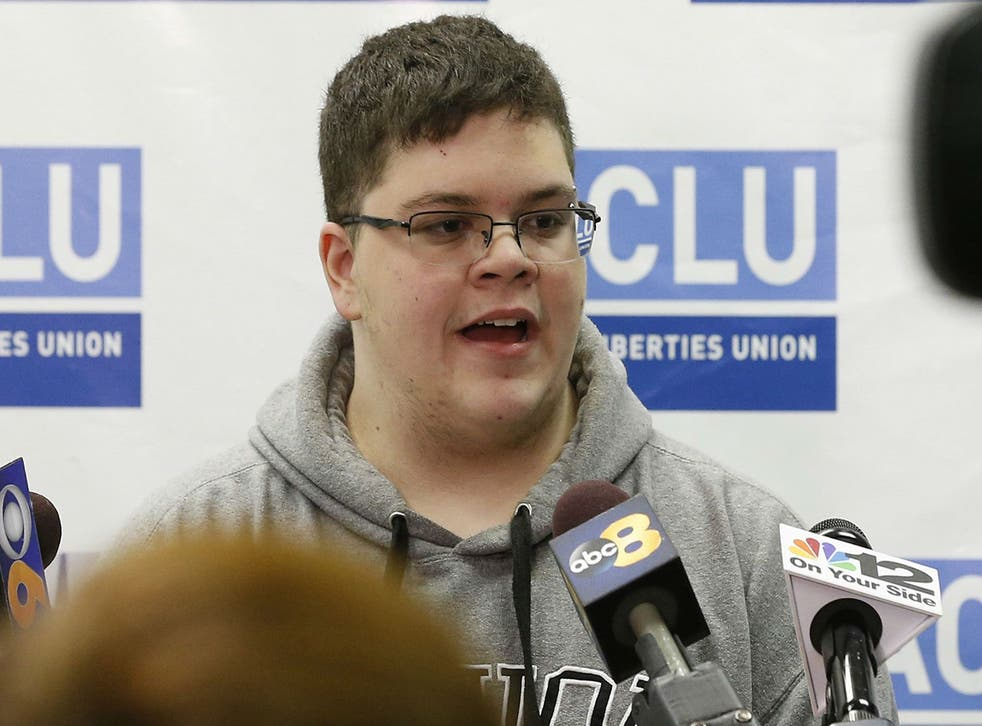 <p>Gavin Grimm, 22, won his lawsuit against the Gloucester County School Board </p>