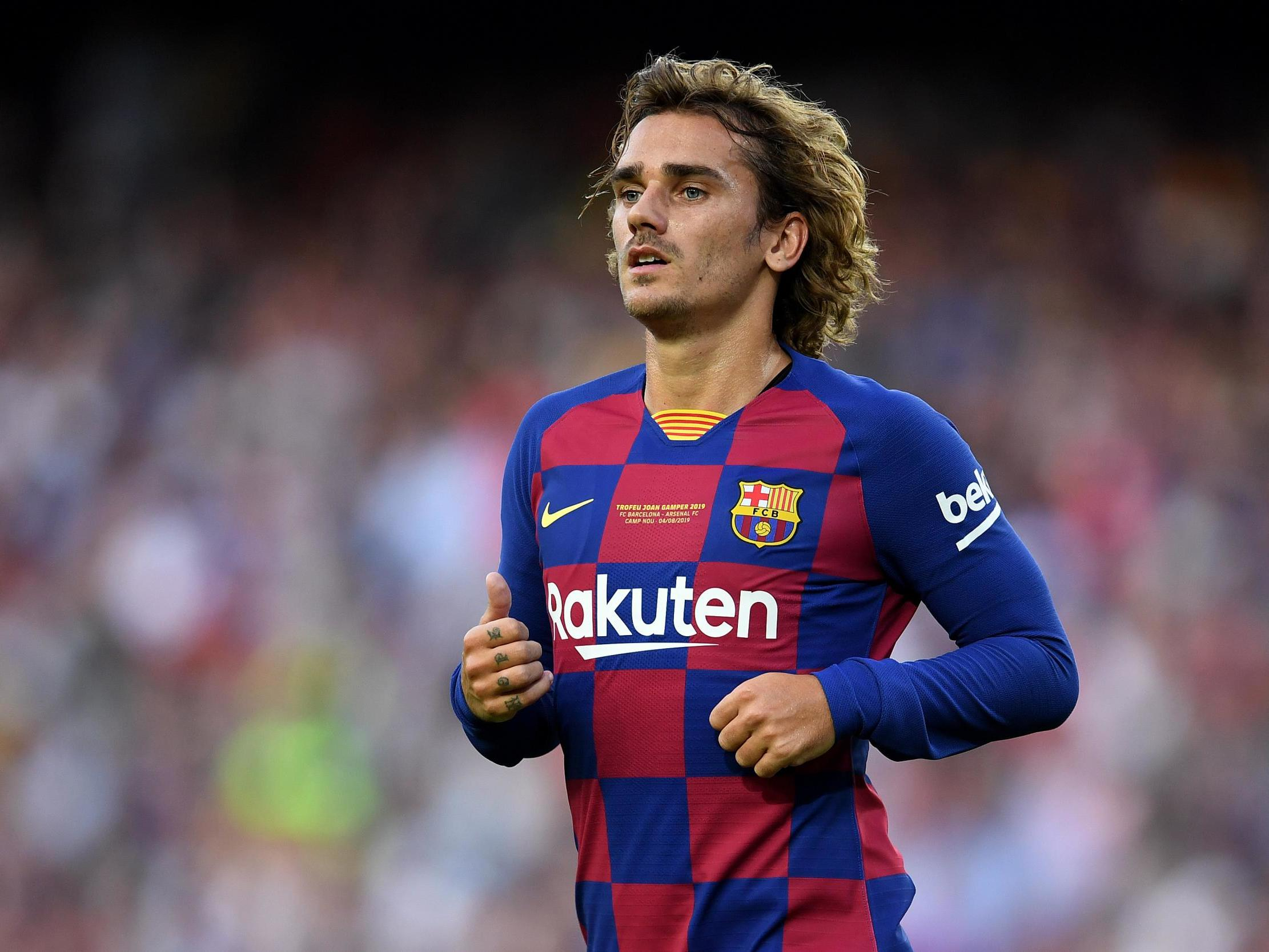 Antoine Griezmann Fuels Barcelona S Pursuit Of Domestic And European Glory The Independent