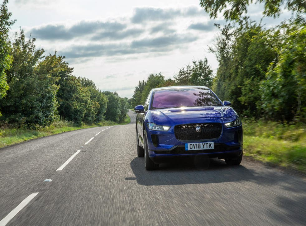 You can probably get about 250 miles out of a fully-charged iPace
