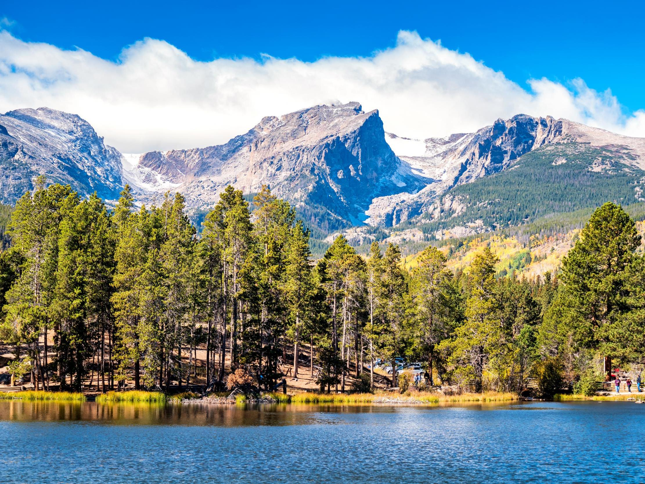 It's raining multicoloured plastic in the Rocky Mountains, scientists find