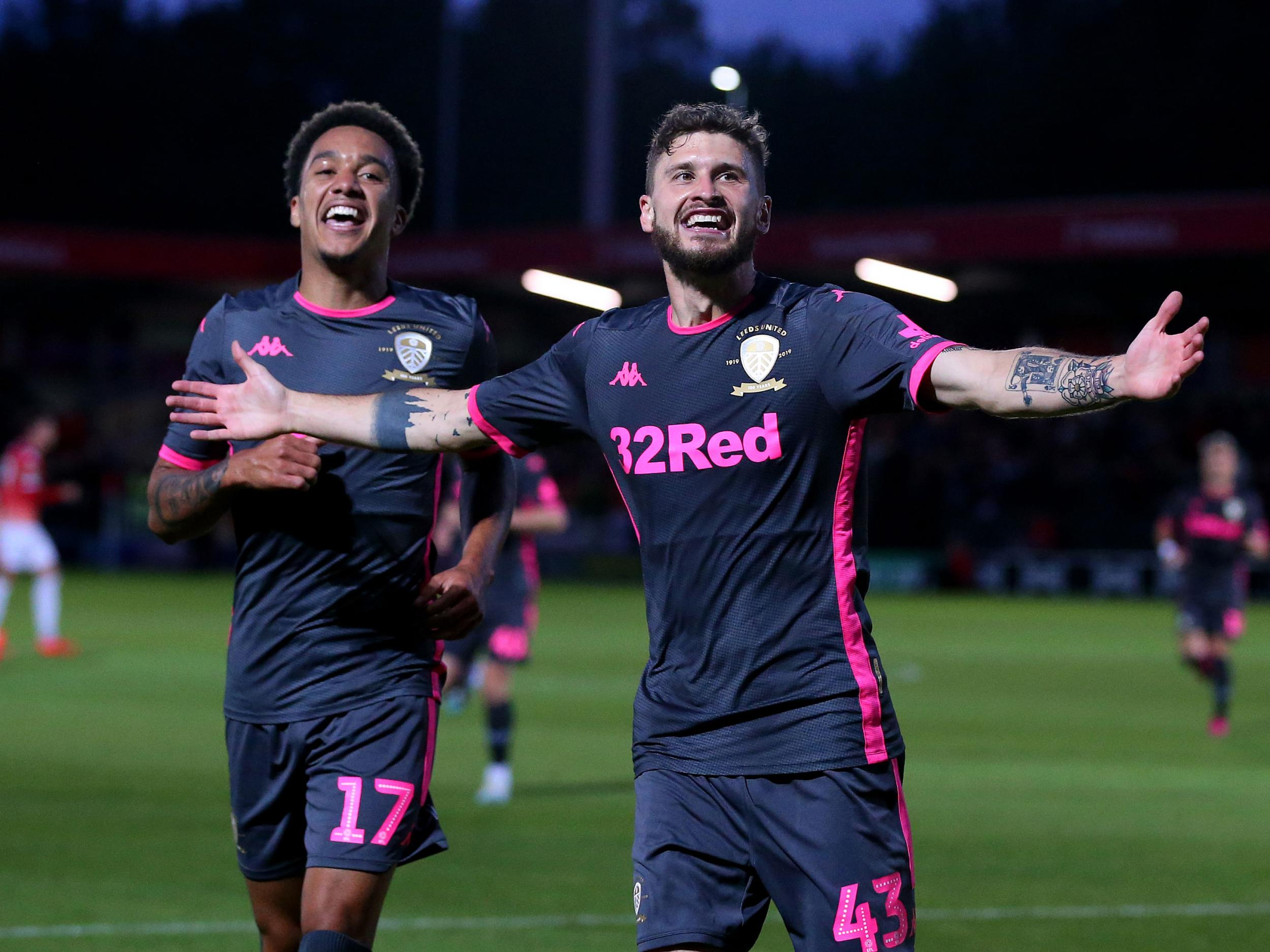 Salford v Leeds: Marcelo Bielsa's side comfortably see off Class of '92 in Carabao Cup
