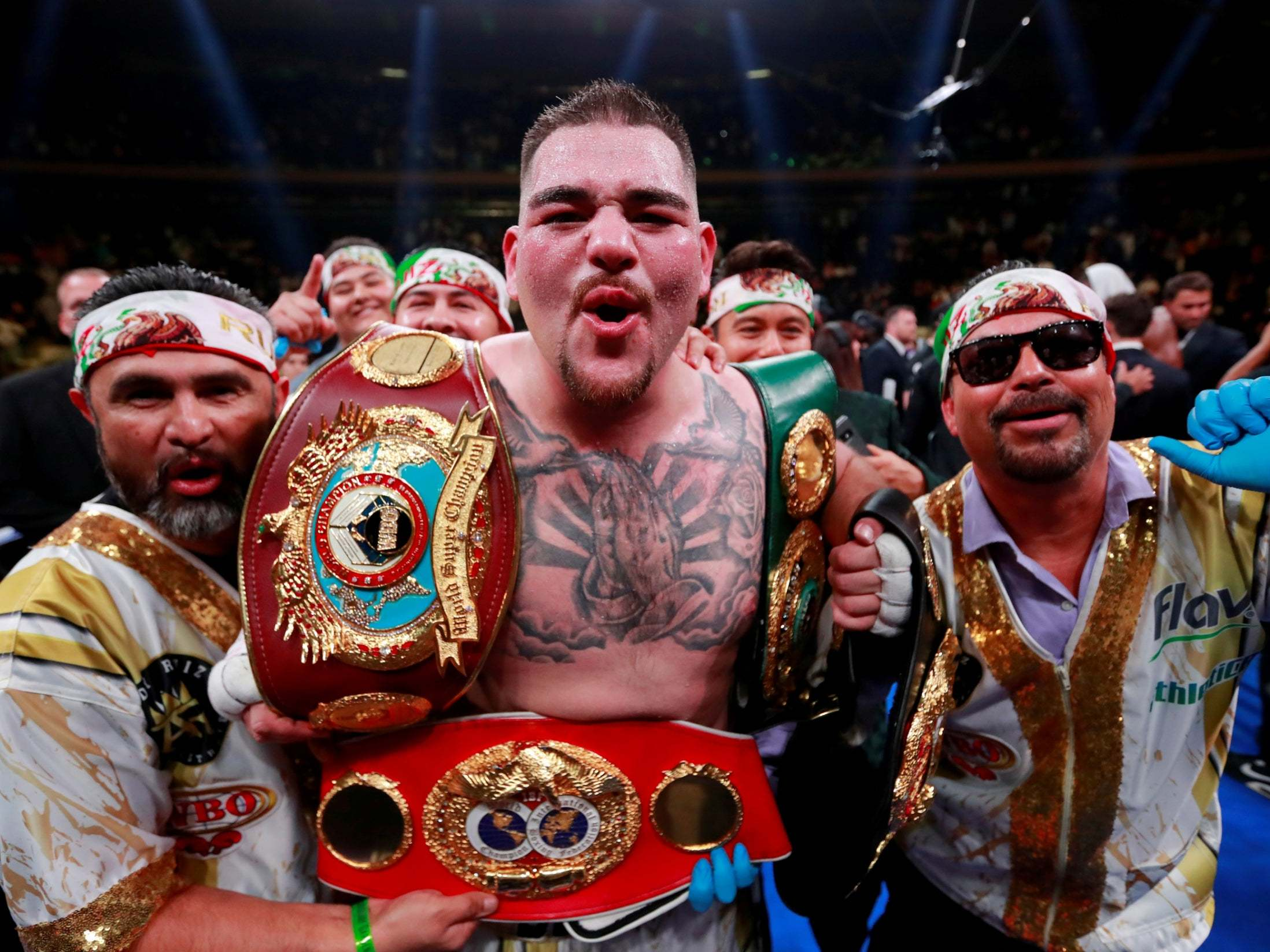 Anthony Joshua vs Andy Ruiz Jr 2: World heavyweight champion vows to 'end' Brit's career with second crushing loss