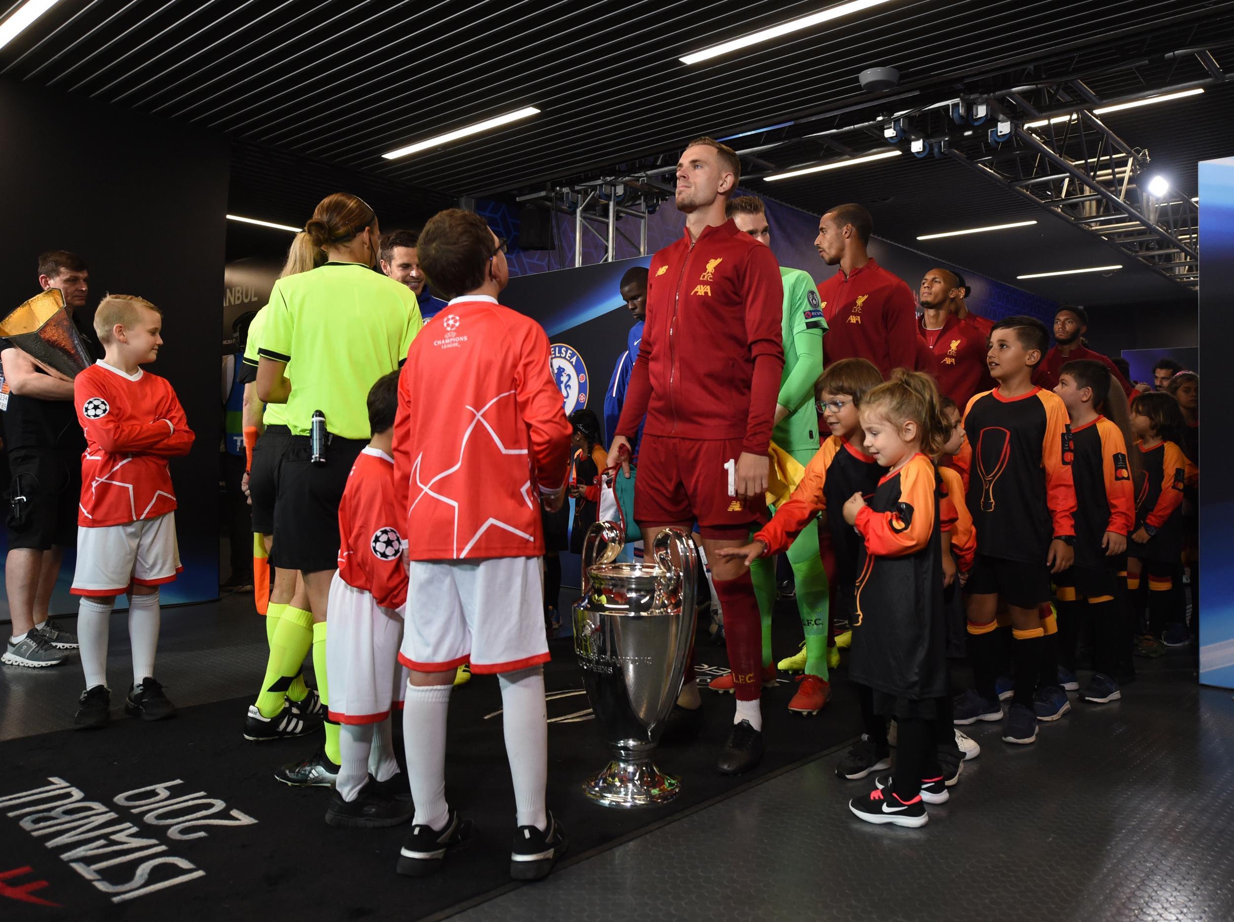 Liverpool Chelsea Supercup
